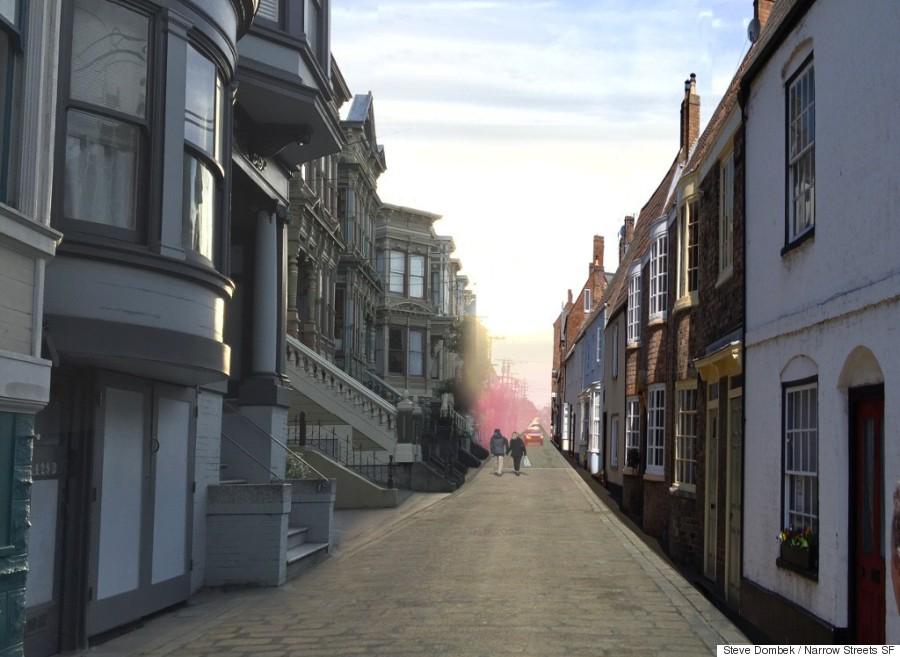 narrow streets sf