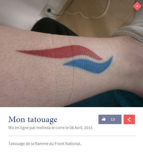 tatouage front national