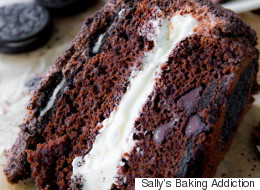 Behold The Oreo Upside-Down Cake