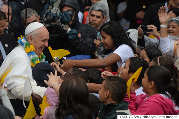 pope francis favela