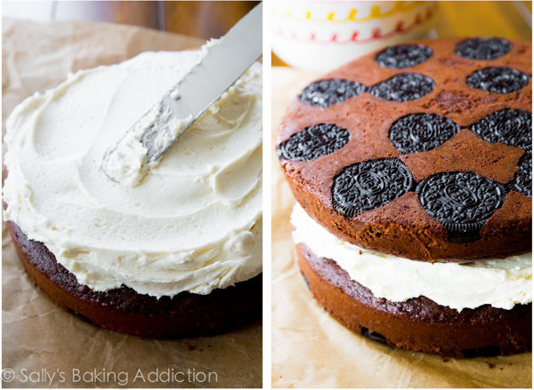 The Oreo Upside Down Cake That S Making Us Reconsider