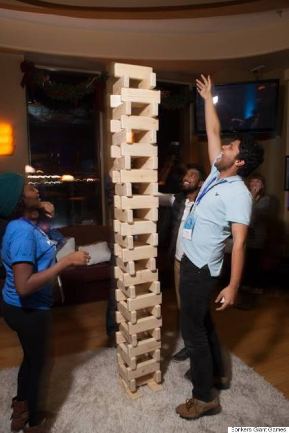 Giant jenga bar