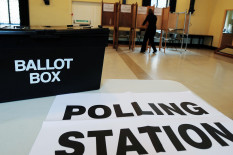 Polling station | Pic: PA