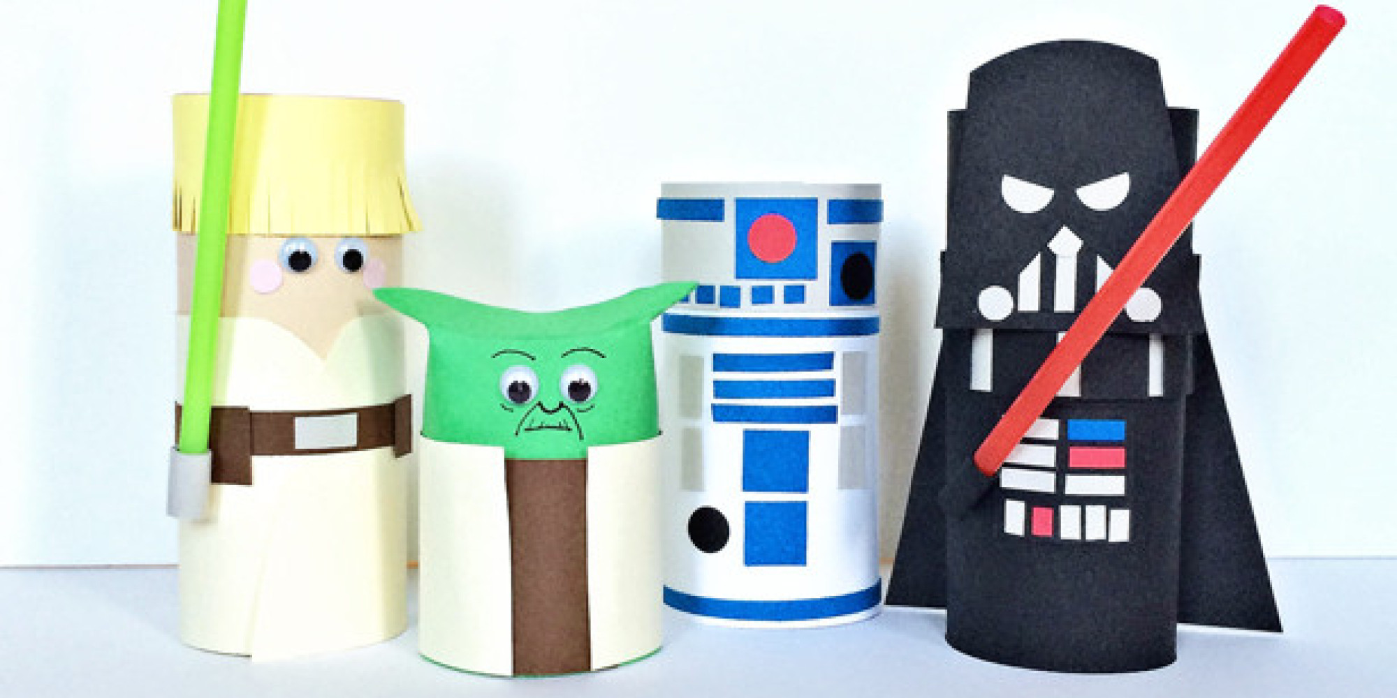 14 fun star wars crafts for your little jedi for Star wars arts and crafts