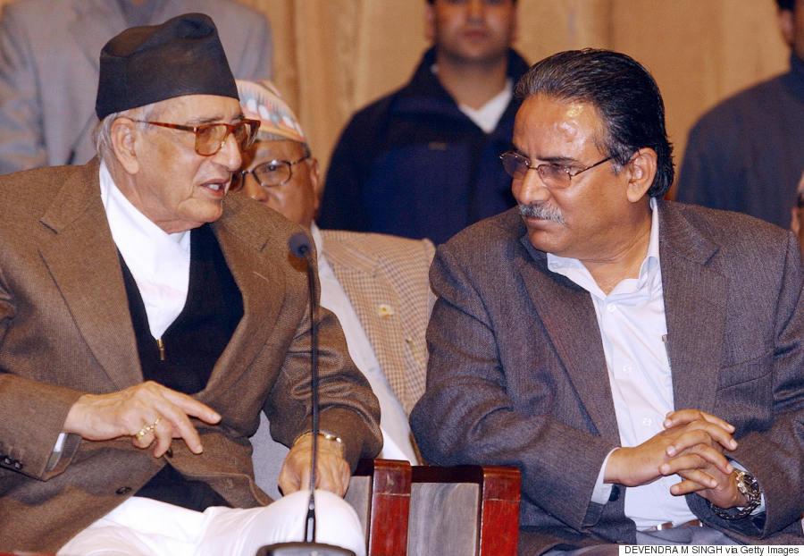 2006 nepal prachanda november