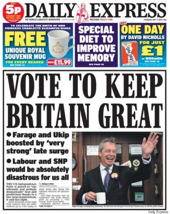 express election front page