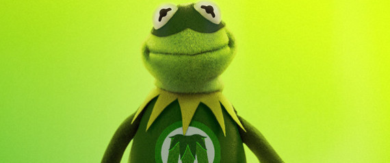 Kermit Being Green