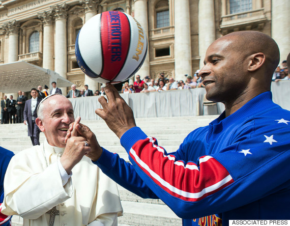 pope francis globetrotters