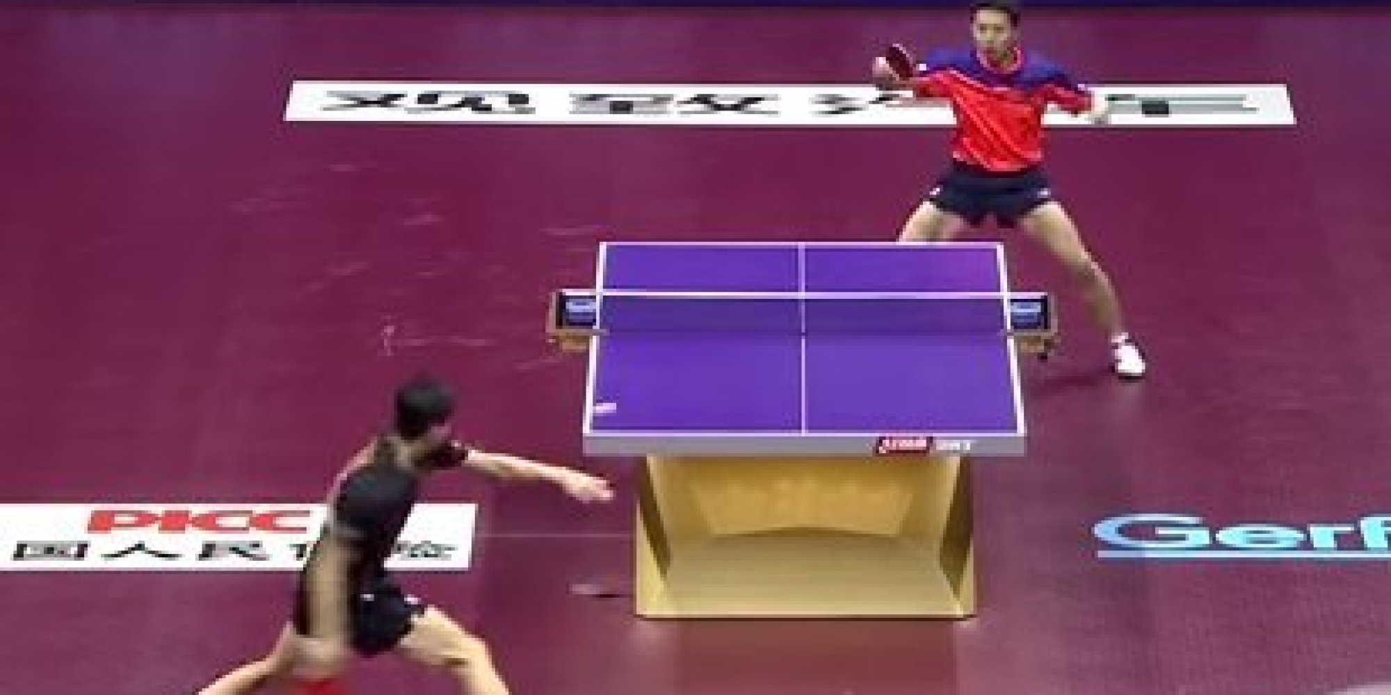 This Is The Best Table Tennis Rally You 39 Ll See In A While Huffpost