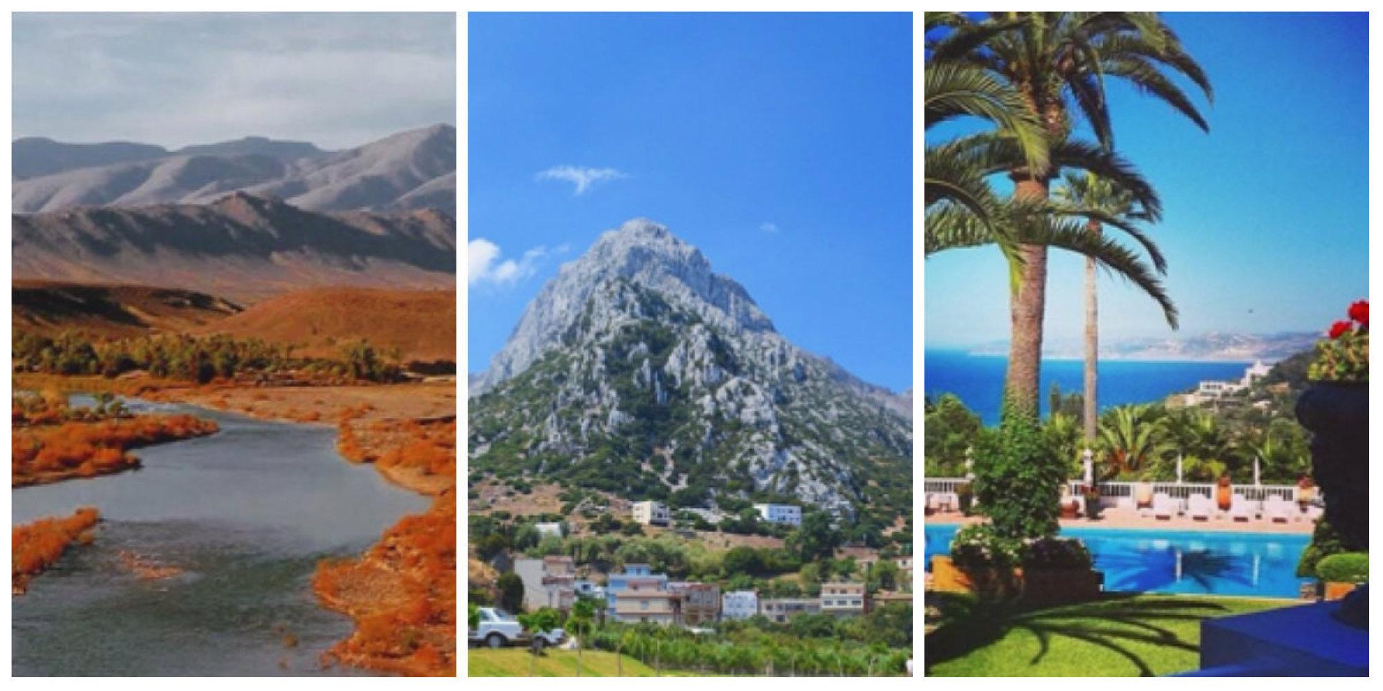 Le maroc paysage voyages cartes for Le paysage
