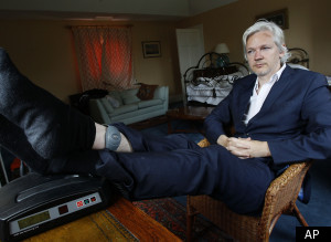 Julian Assange House Arrest