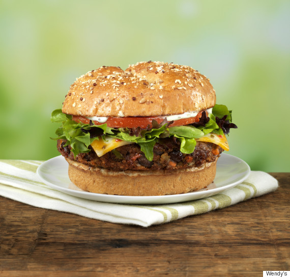 wendys veggie burger