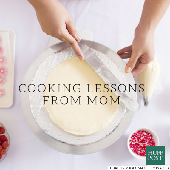 cooking lessons from mom