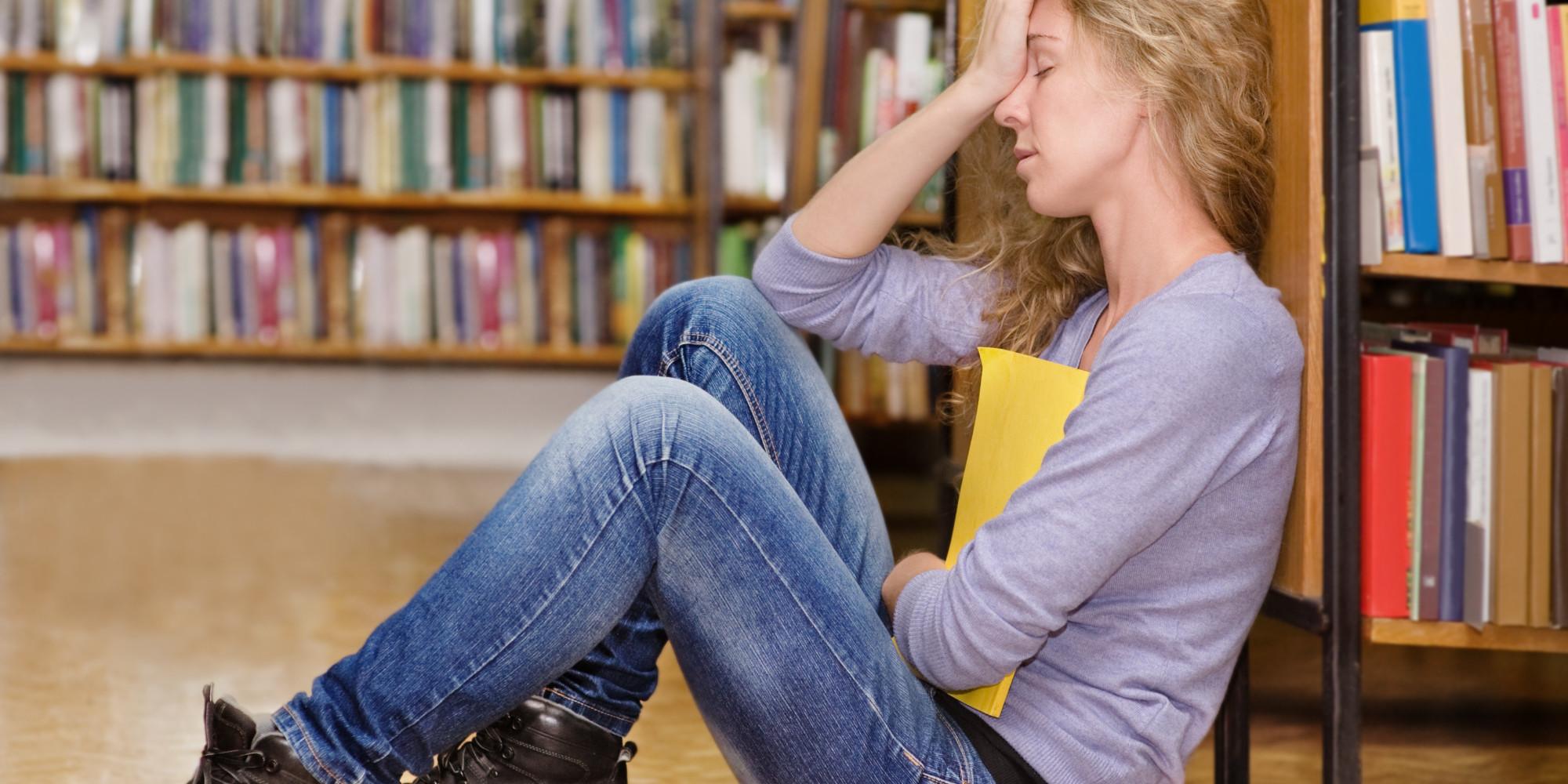 teenage stress essay