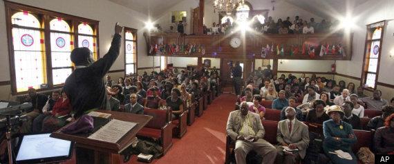 BLACK CHURCHES PROSTATE CANCER