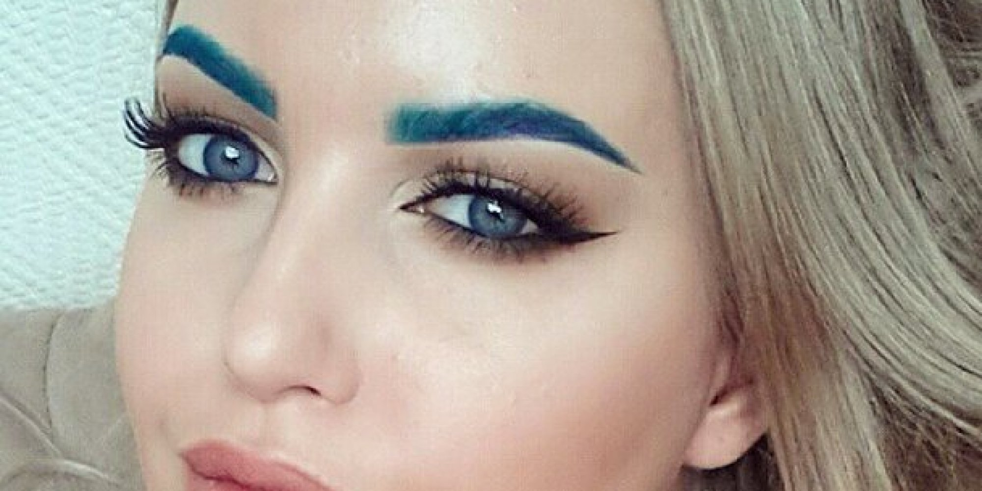 10 Awesome Rainbow Eyebrow Looks To Brighten Up Your Day | The ...