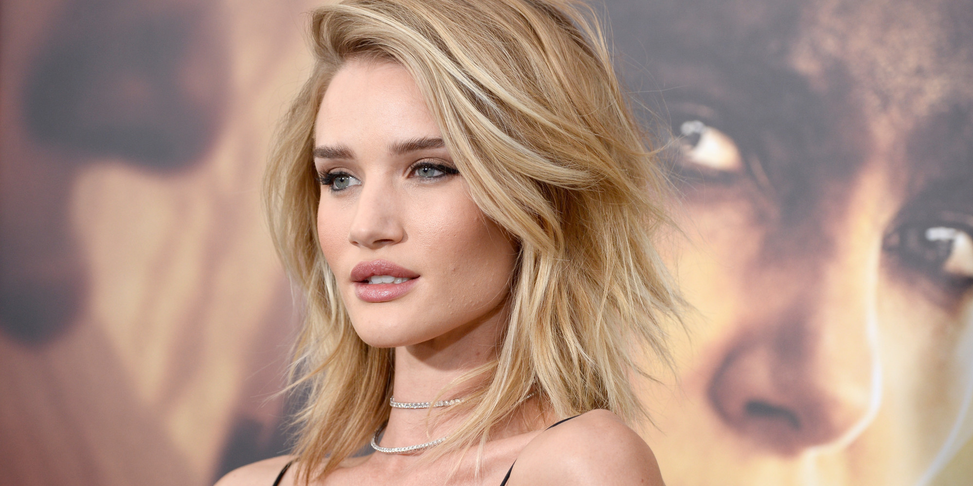 Rosie Huntington-Whiteley Is A Vision At 'Mad Max: Fury Road' Premier...
