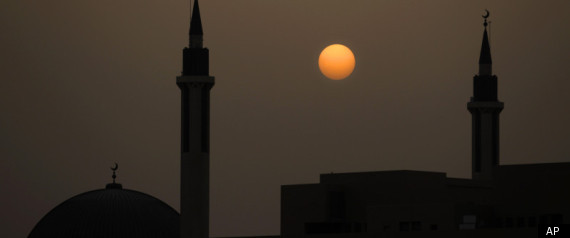 RIYADH MOSQUE SKYLINE