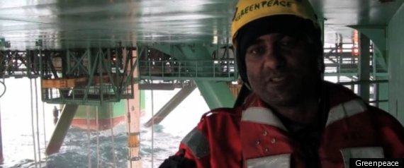 Kumi Naidoo Arrested Greenpeace Arctic