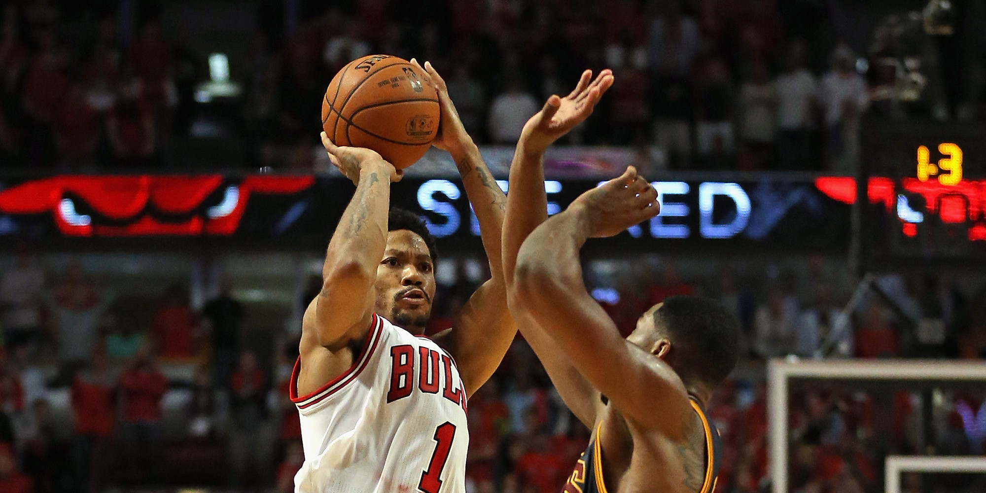 WATCH: Derrick Rose Hits Game-Winning 3-Pointer In Game 3 vs ...
