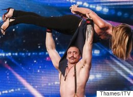 BGT Preview: Amanda Gets Carried Away, Yes, Quite Literally
