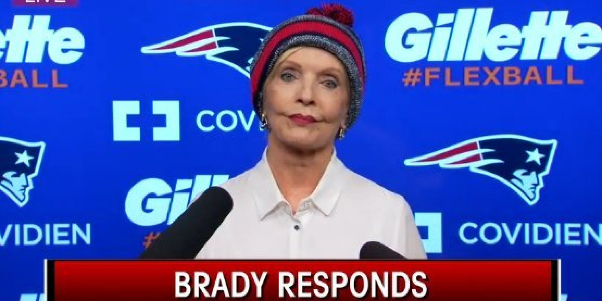 Florence Henderson as tom brady