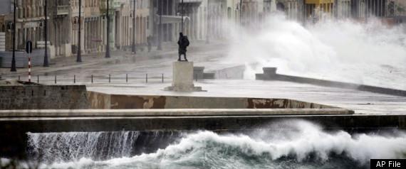 CUBA SEA RISE LEVELS 2100 CLIMATE CHANGE