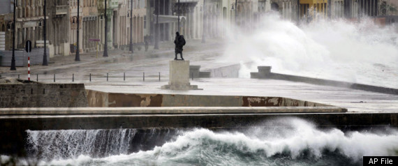 Cuba Sea Rise Levels 2100 Climate Change