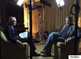 La confesión de Clooney a Ramos sobre Hillary Clinton