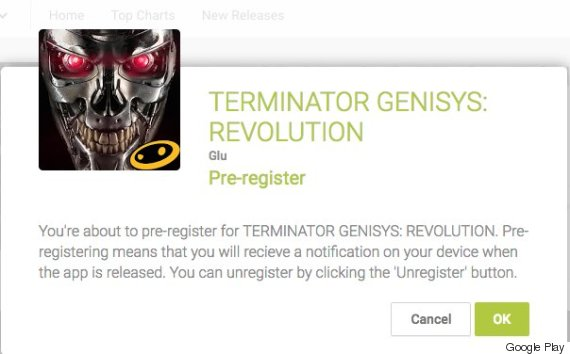 google play preregister