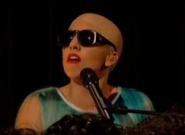 Lady Gaga Bald