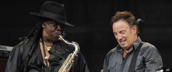 bruce springsteen clarence clemons. Bruce Springsteen#39;s Clarence