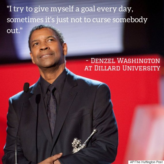 denzel washington graduation speech transcript 2015
