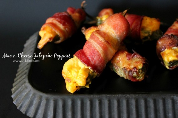 Bacon-Wrapped Mac & Cheese Jalapeño Poppers You Should Make ...