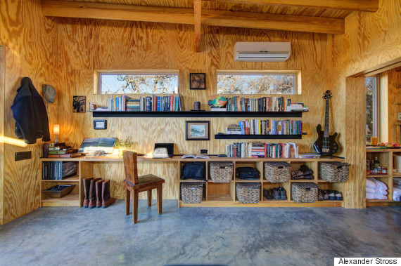 Miraculous 4 Families Built Their Own Ranch Made Of Tiny Houses And Its Largest Home Design Picture Inspirations Pitcheantrous