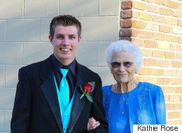 Teen Takes Great-Grandma To Prom Because She's 'The Prettiest Woman'