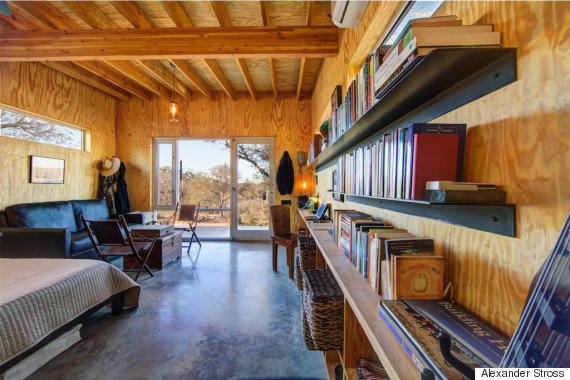 4 Families Built Their Own Ranch Made Of Tiny Houses, And