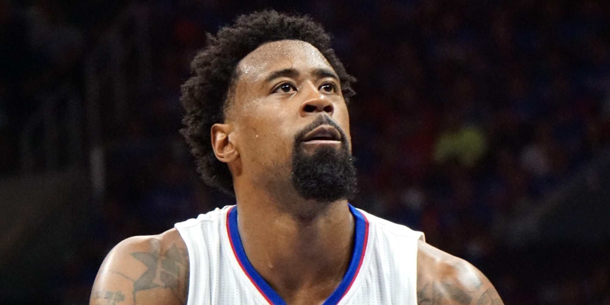Superb The Nba Needs To Create The Deandre Jordan Rule Huffpost Hairstyle Inspiration Daily Dogsangcom