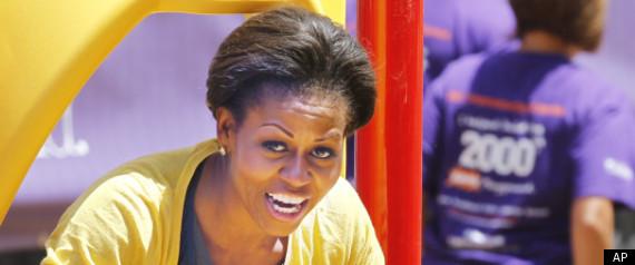 Michelle Obama Africa