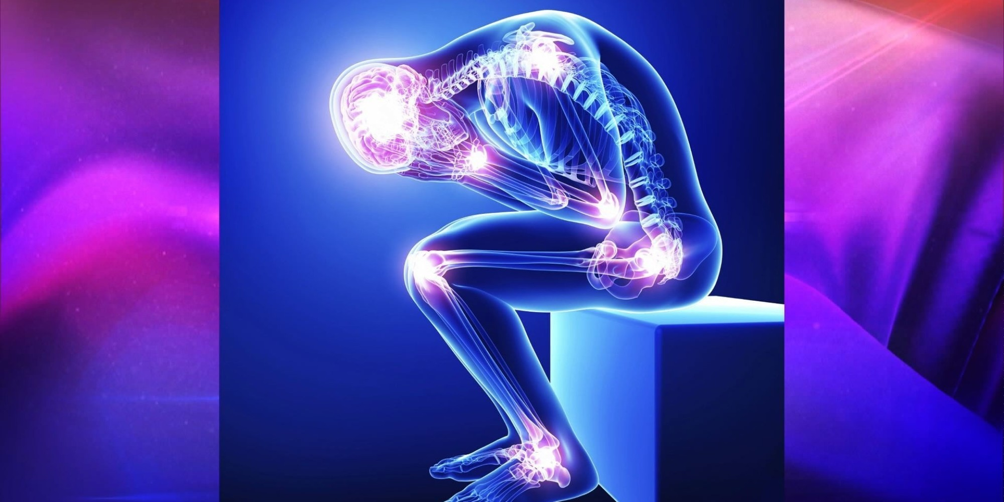 9 common symptoms of fibromyalgia and what to do if you're, Skeleton