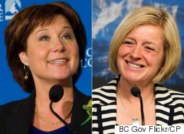 Rachel Notley, Christy Clark Sure To Become Strong Allies