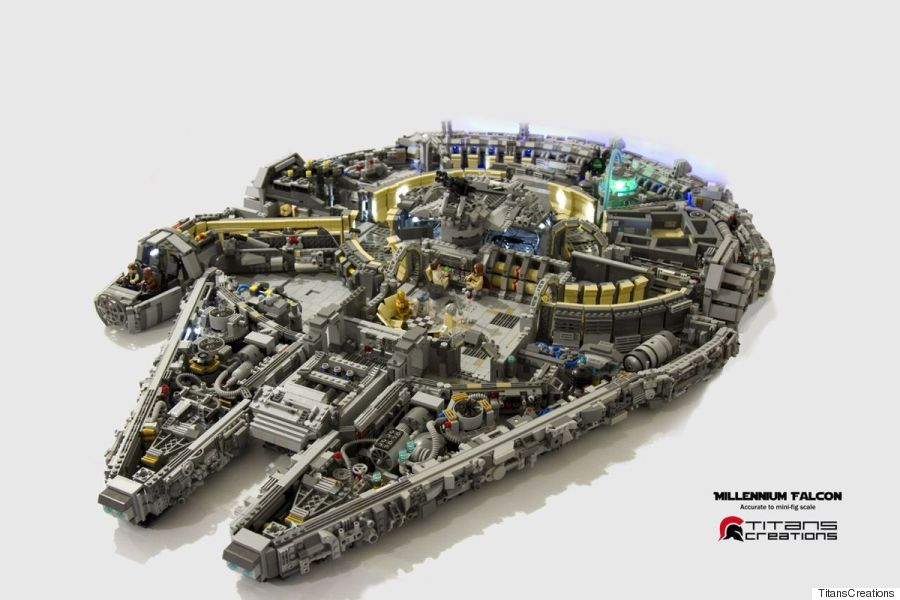 Lego Millennium Falcon prised 10 000 Bricks Goes