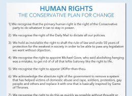 Those Tory Human Rights Explained...