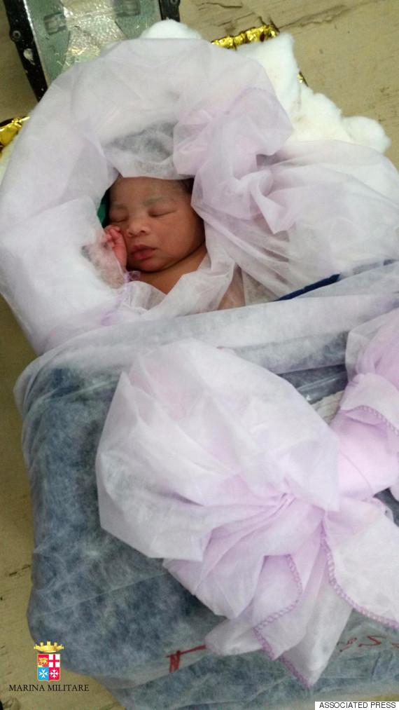 migrant baby born