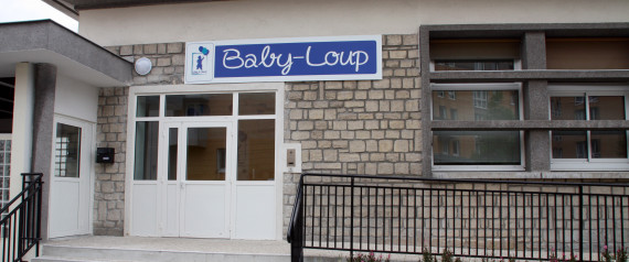 CRCHE BABY LOUP