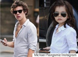This Harry Styles Mini-Me Is Killin' The Fashion Game