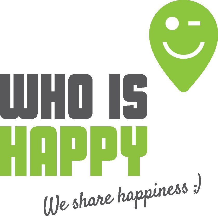 who is happy logo