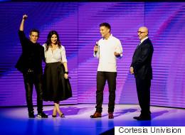Clinton, Ricky Martin y más celebridades en el Upfront de Univision