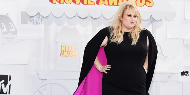 Rebel Wilson Launching Plus Size Fashion Collection Huffpost