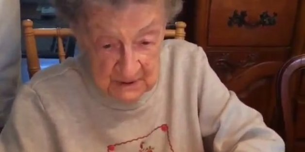 ... -Year-Old Grandma Blows Out Teeth While Blowing Out Birthday Candles